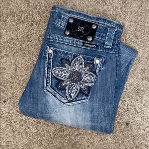 Brand new Miss Me signature rise bootcut jeans